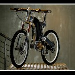M55 Hybrid Elektrikli Bisiklet Ön Yan