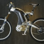 M55 Hybrid Elektrikli Bisiklet Yan