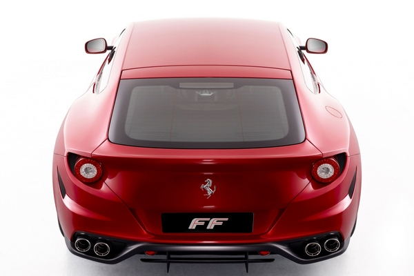 Ferrari FF Arka