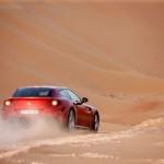 Ferrari FF Çöl Arka Tozlu