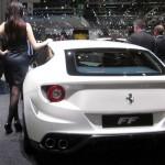 Ferrari FF Model Arka