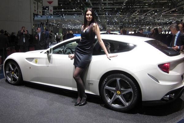 Ferrari FF Model Yan Arka