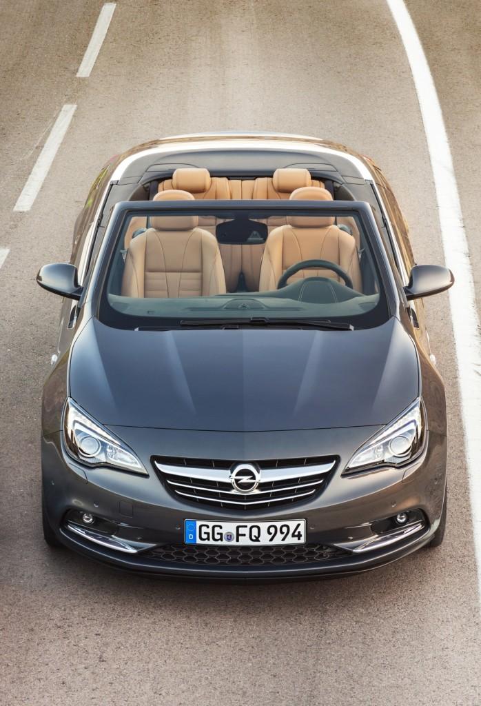 Opel Cascada 2013 Ön Üst