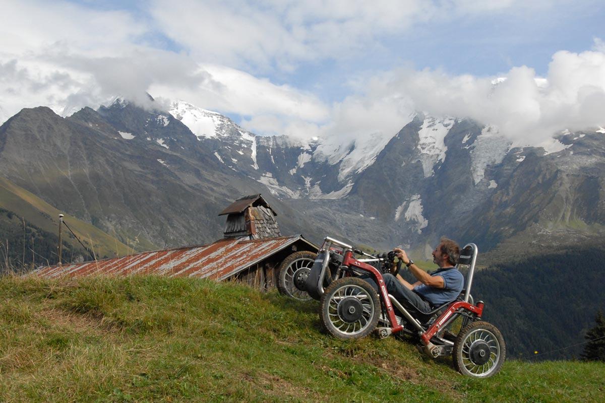 Örümcek Araba Swincar Dağa Tıırmanma
