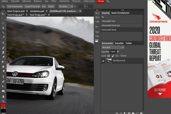 Photopea, Online Photoshop Uygulaması